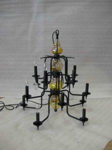 Aritzia custom chandelier